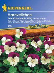 Hornveilchen 'Twix White Purple Wing' - Kiepenkerl �